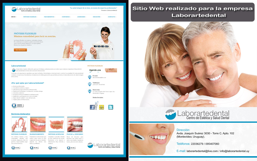 Ver: www.laborartedental.com.uy